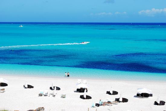 La plage de Grace Bay Top 1 du classement mondial des plages 2016 selon TripAdvisor