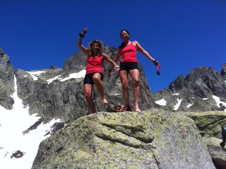 La montagne corse entre filles