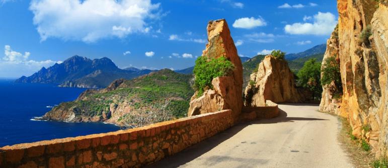 La Corse, paradis des motards
