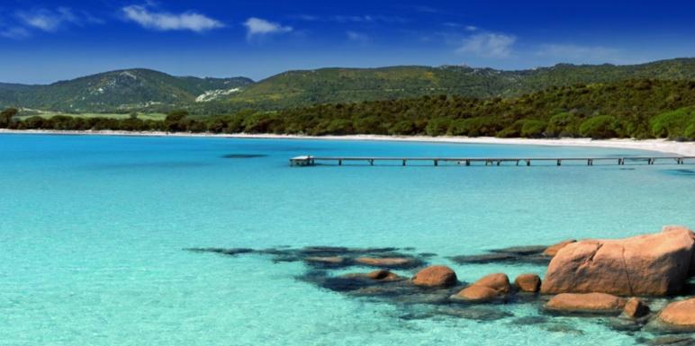 Les plages du Sud de la Corse
