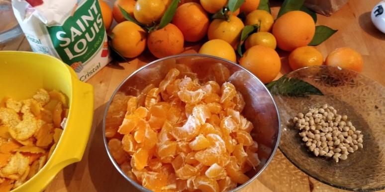 Confiture de mandarine corse