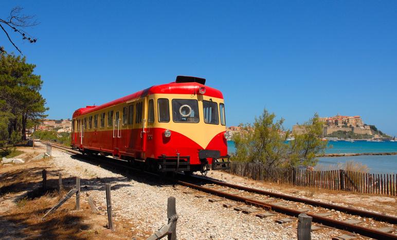 Le Trinichellu ou le fameux train en Corse
