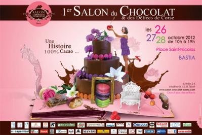 Salon du chocolat à Bastia