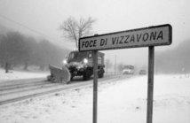 Vizzavona sous la neige en octobre