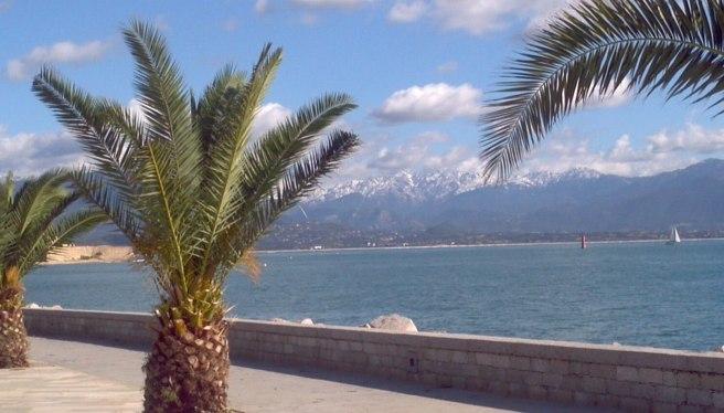La neige en Corse en Octobre ©O.Perrini