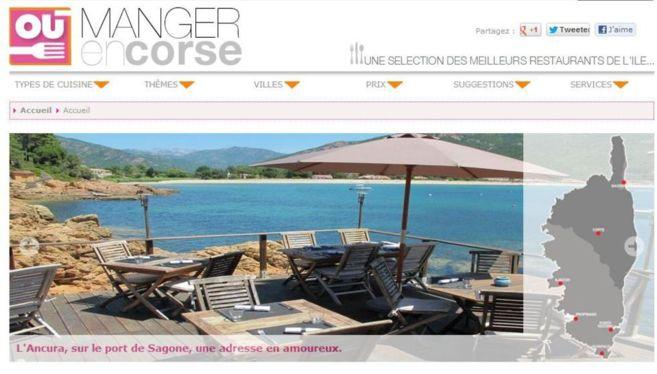 Ou Manger en Corse, le site des restaurants en Corse