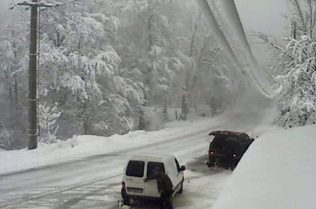 La neige en Corse