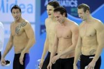 Les champions de natation français sont à Propriano