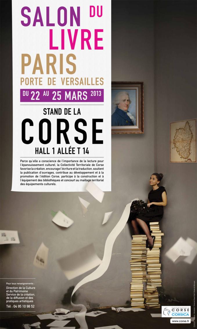 La Corse au Salon du Livre à Paris