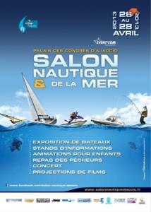Affiche Salon Nautique Ajaccio 2013
