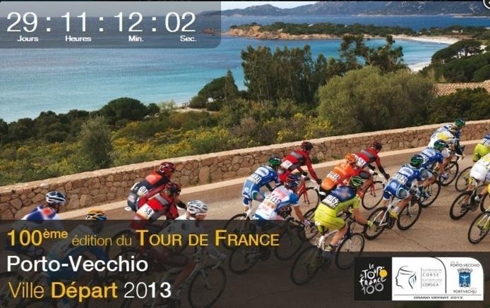 Le départ du Tour de France en Corse dans J -30