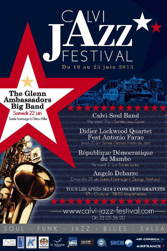 Calvi Jazz Festival, 19 au 23 juin 2013