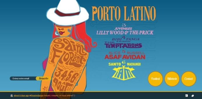 Porto Latino, nouveau site internet