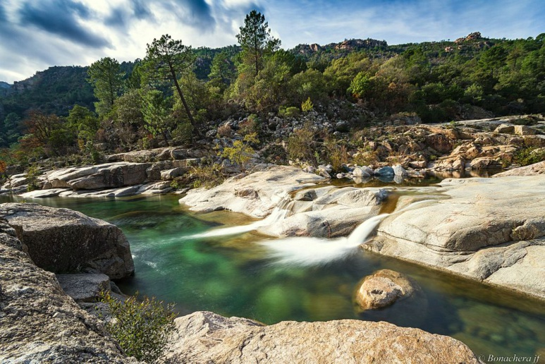 Les piscines naturelles du Cavu
