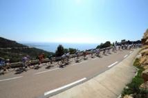 Tour de France dans le sud de la Corse