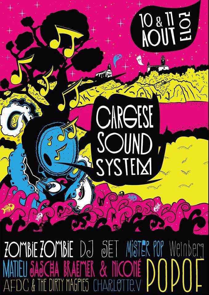 Cargese Sound System, le petit nouveau qui monte