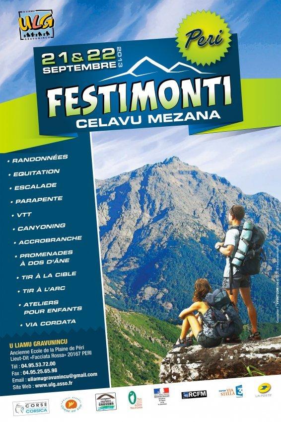 Festimonti 2013, les 21 et 22 Septembre...à Peri !