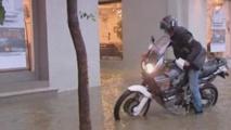 La pluie à Ajaccio ©Viastella