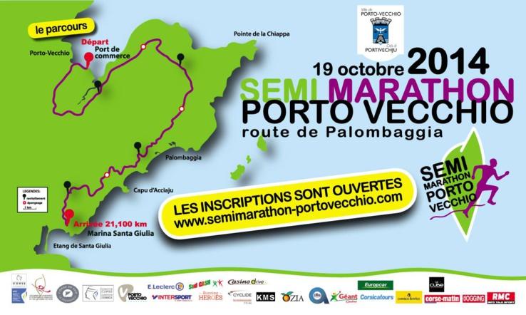 Le semi marathon de Porto Vecchio