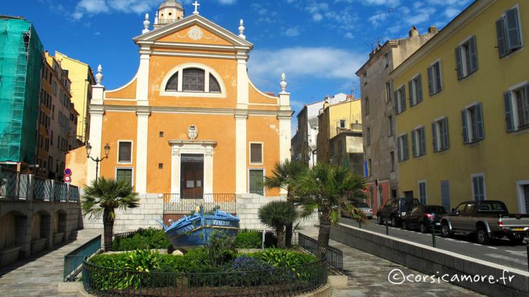La cathédrale d'Ajaccio ©corsicamore