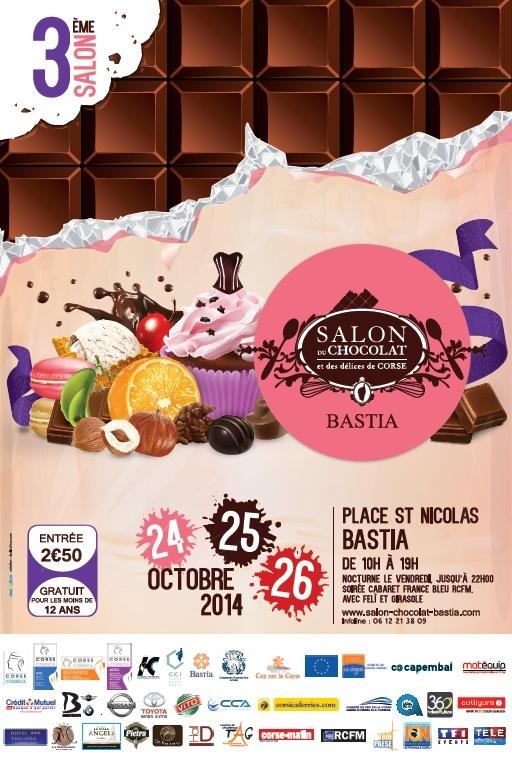 Le 3 eme salon du chocolat de Bastia