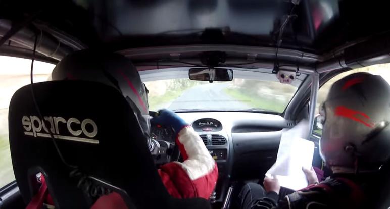 Vidéo de rallye en Corse