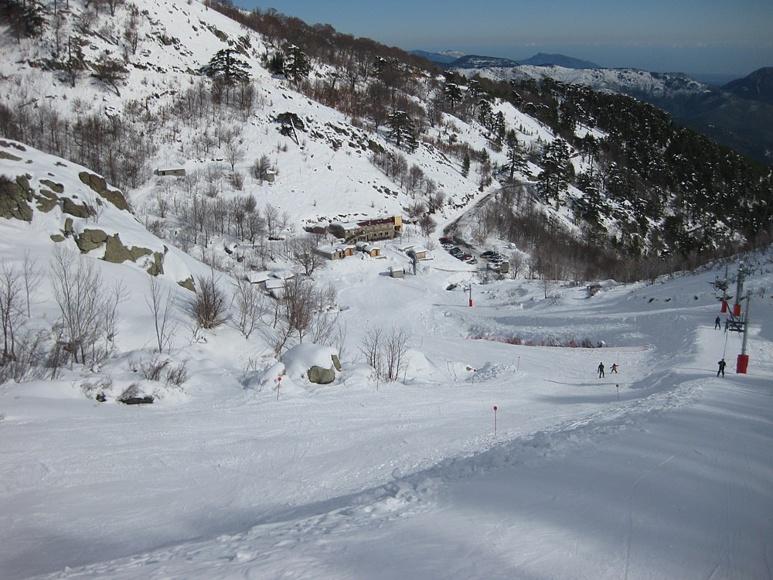 La station de Ghisoni