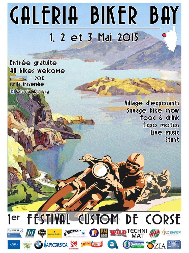 Festival des bikers à Galeria
