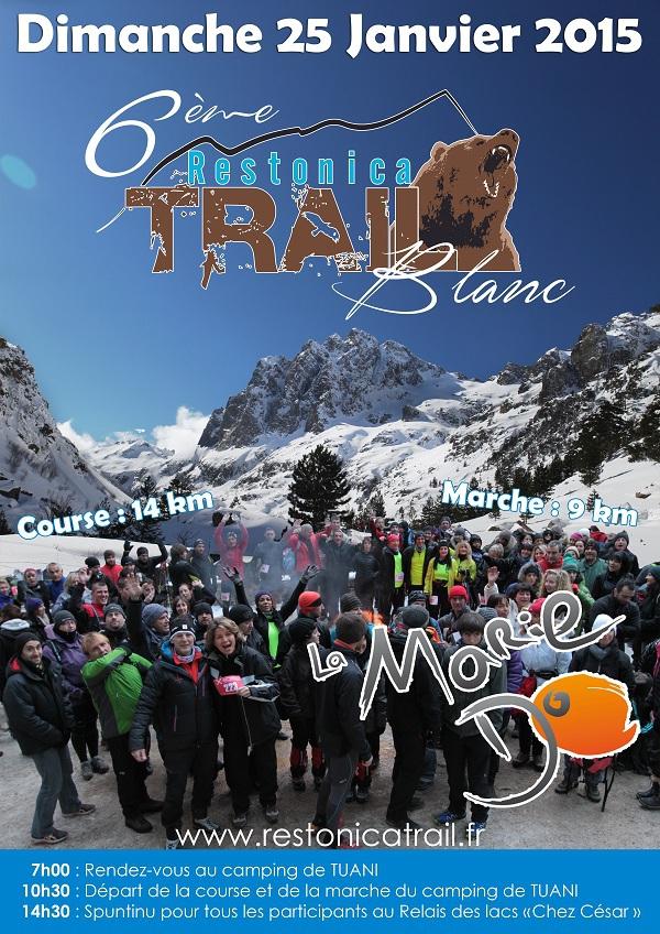 Le trail Blanc de la Restonica