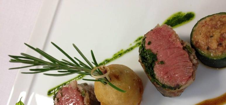 La cuisine du Grand Hotel de Cala Rossa