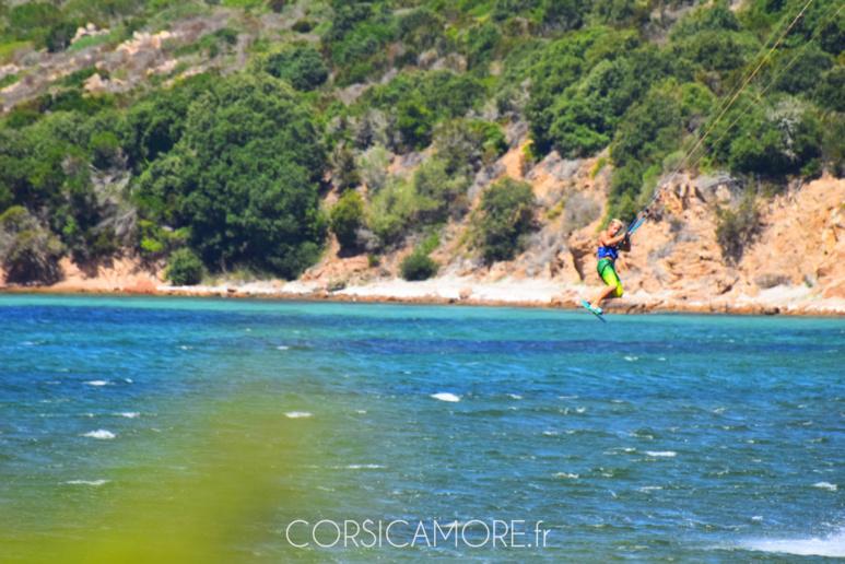 Kitesurf en Corse à Bonifacio