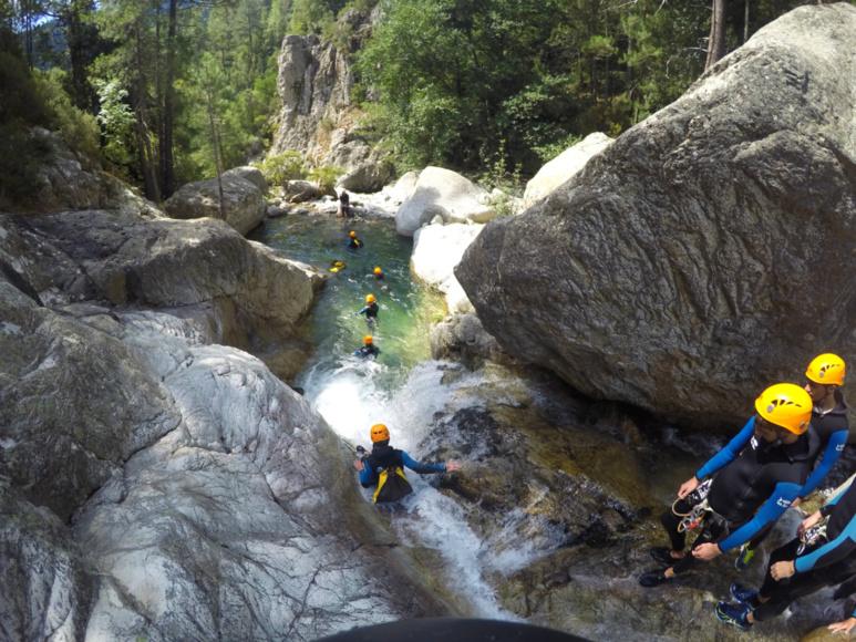 Découvrir le canyon du Verghellu