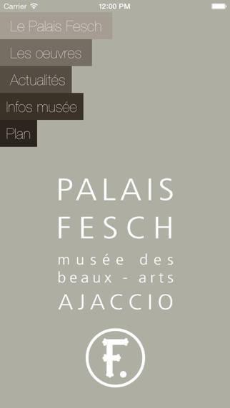 L'application du Musée Fesch