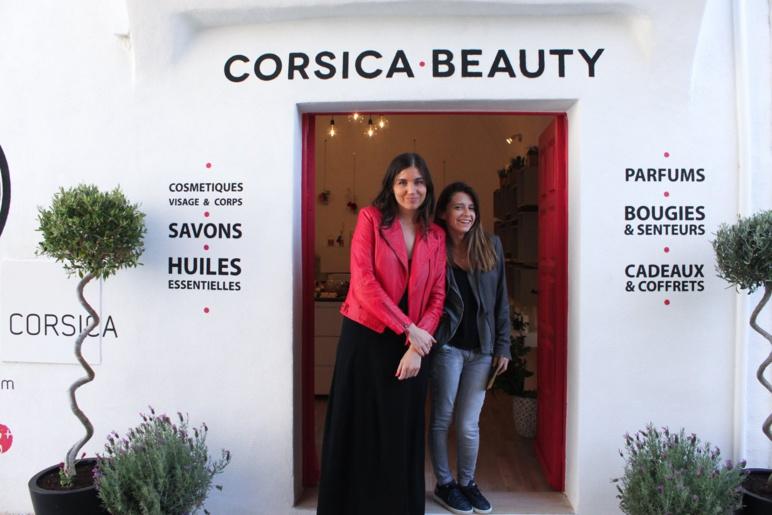 Sublimée à Noël par....Corsica Beauty
