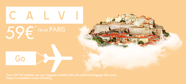 Vol Paris Calvi avec ASL Airlines
