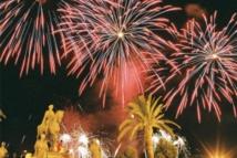 Feu d'artifice du 14 juillet à Ajaccio