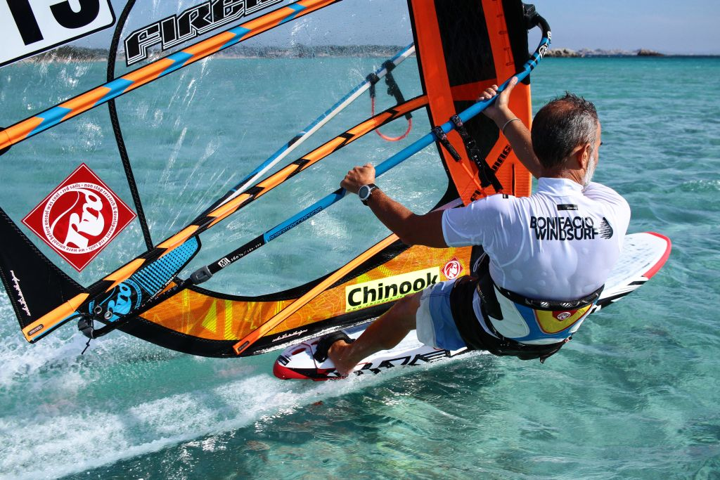 Windsurf en Corse