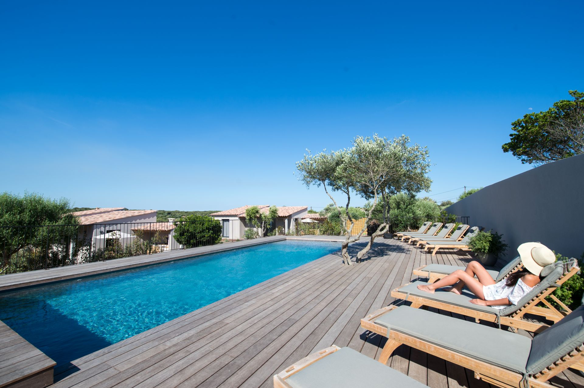 Villa et piscine à Bonifacio