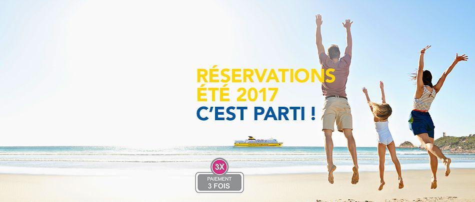 Réservation Corsica Ferries 2017