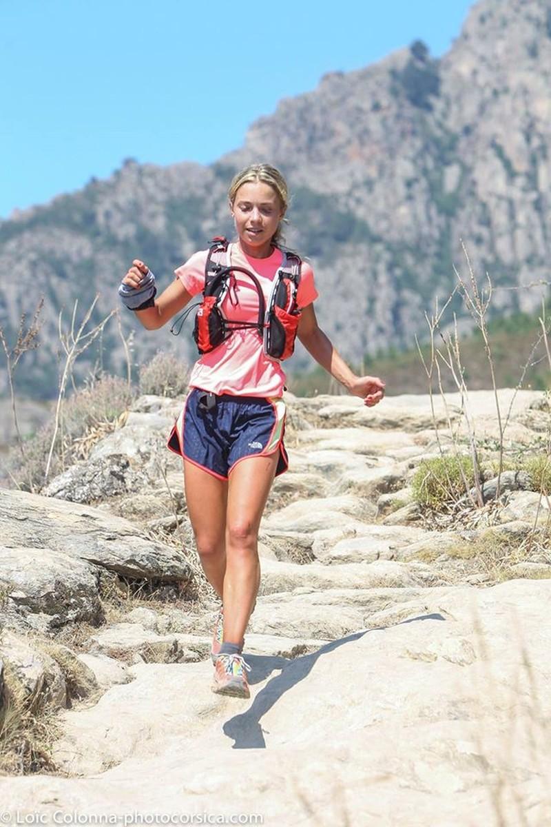Les féminines sur les trail en Corse