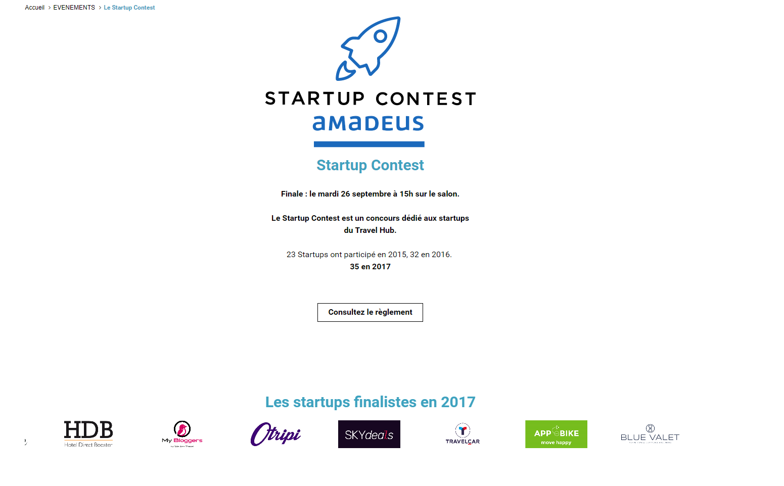 Start up contest