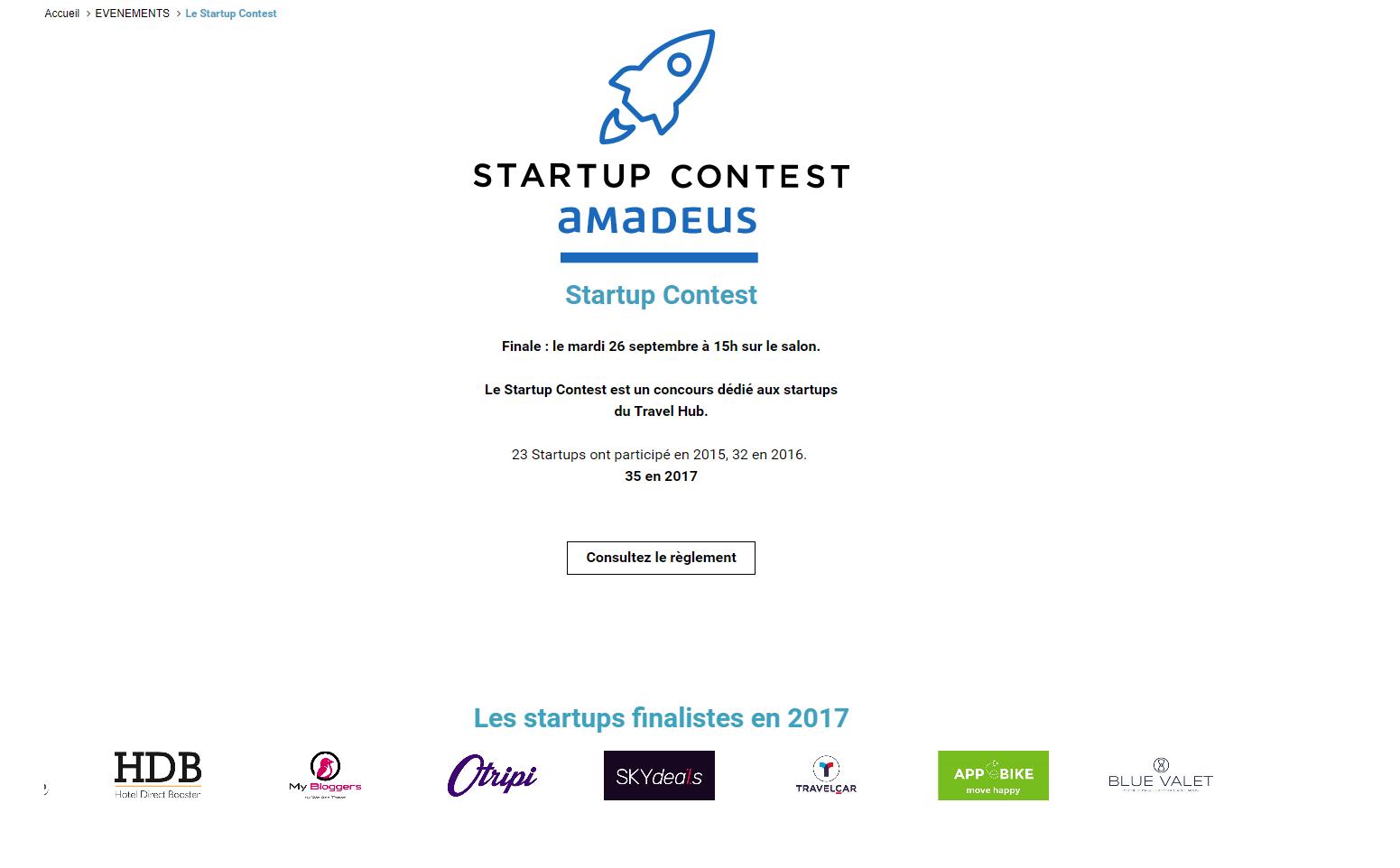 Start up contest