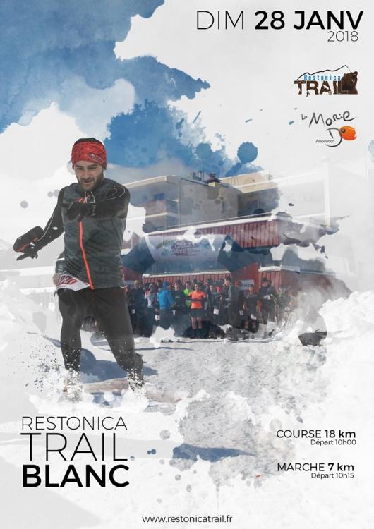 Le Trail Blanc version 2018