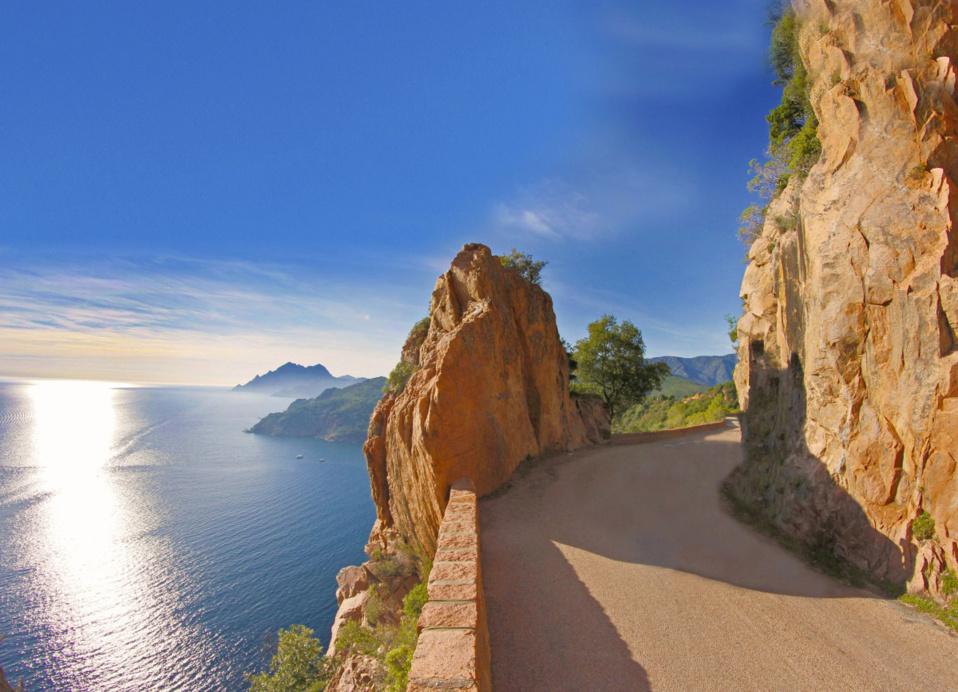 Les routes en Corse