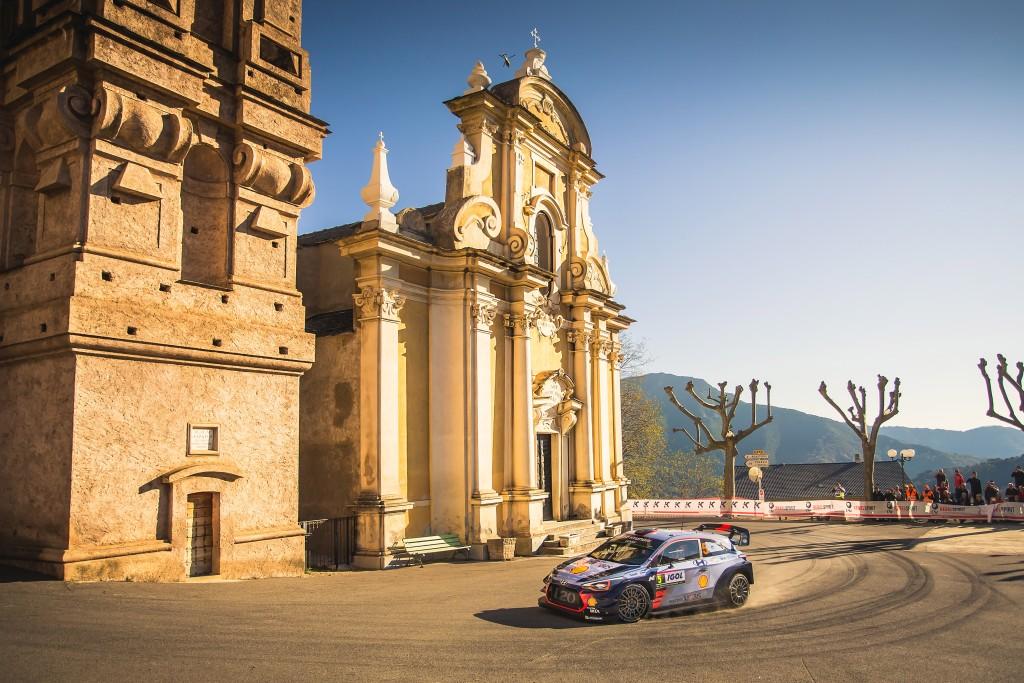 Tour de Corse auto, championnat du monde des rallyes