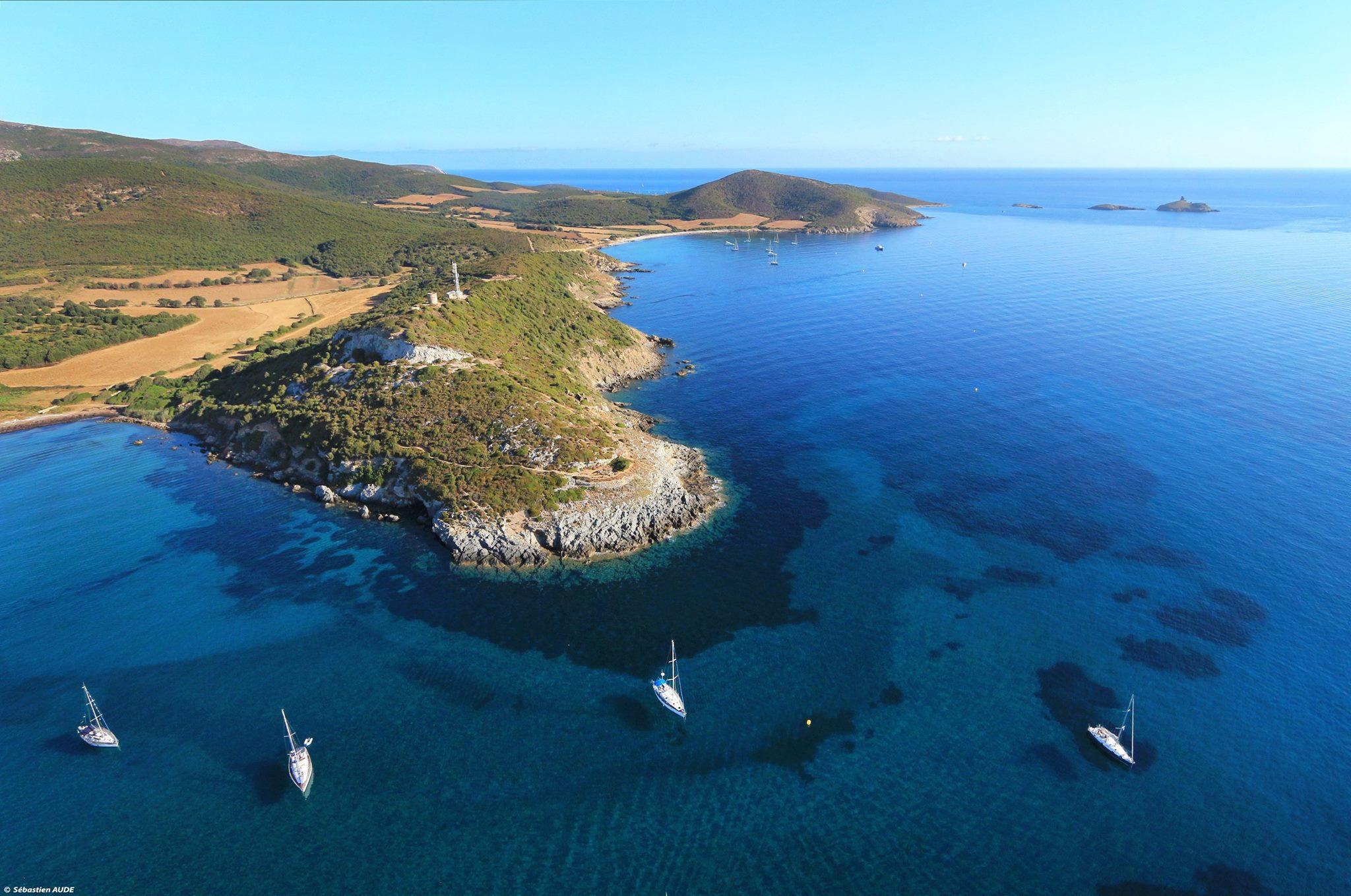 Mouillage dans le Cap Corse