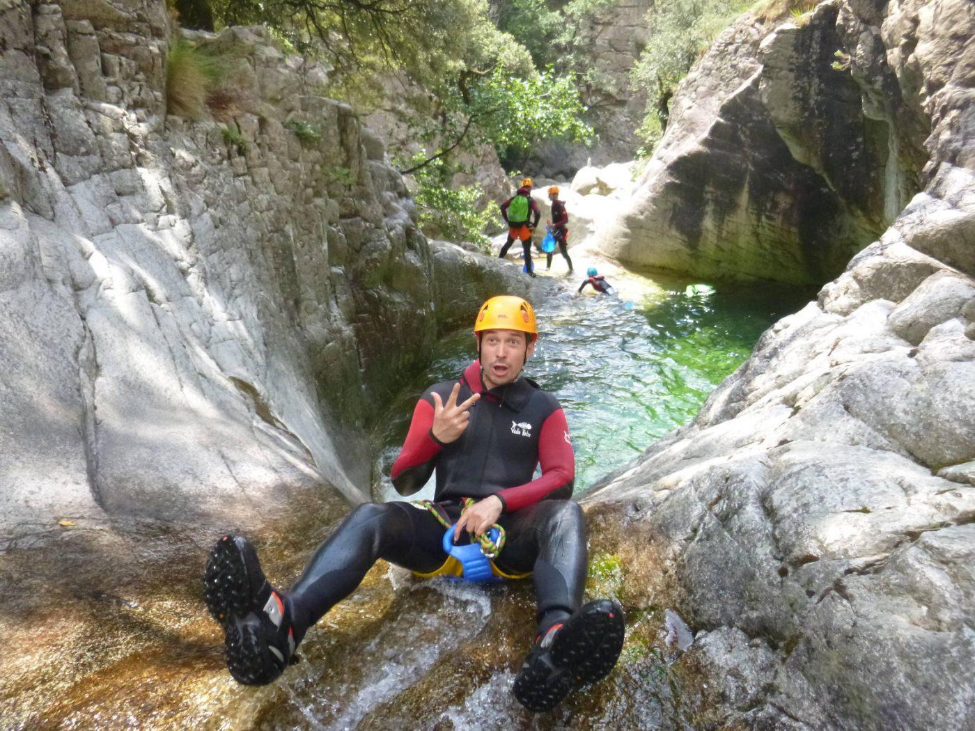 Canyoning de la Richiusa