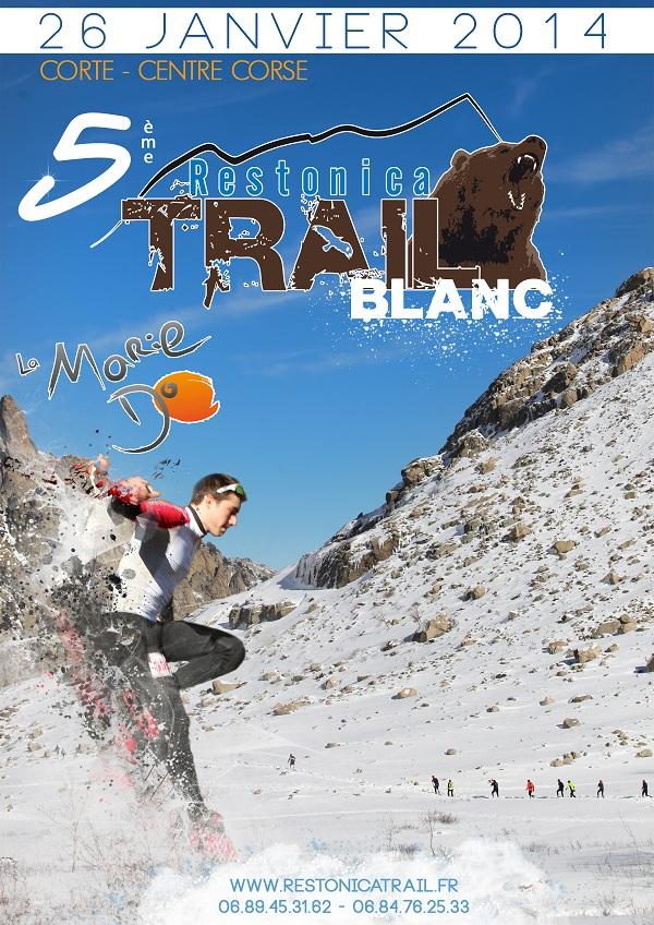 Le Trail Blanc à Corté le 26 Janvier