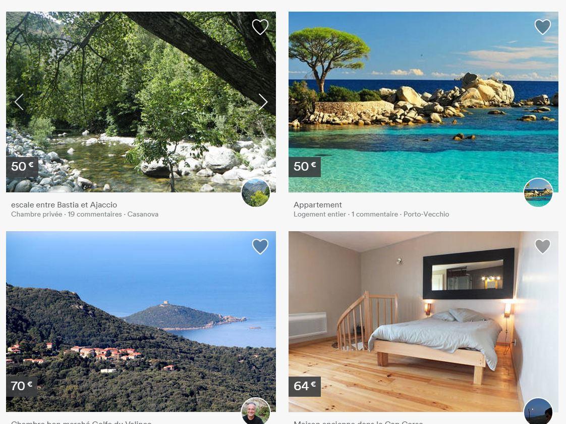 Air BnB en Corse, la révolution communautaire dans l'hébergement touristique