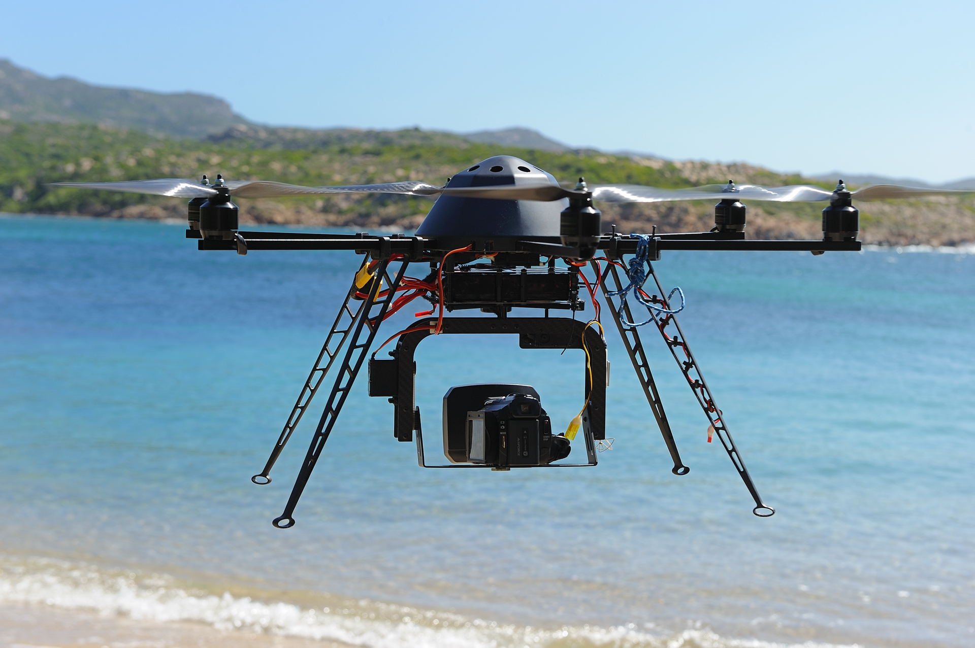 Drone de la société Corsica Drone